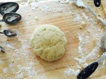fresh pasta dough ball