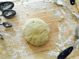 fresh pasta dough ball