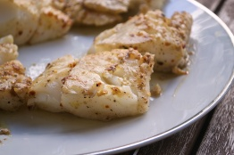 seared cod