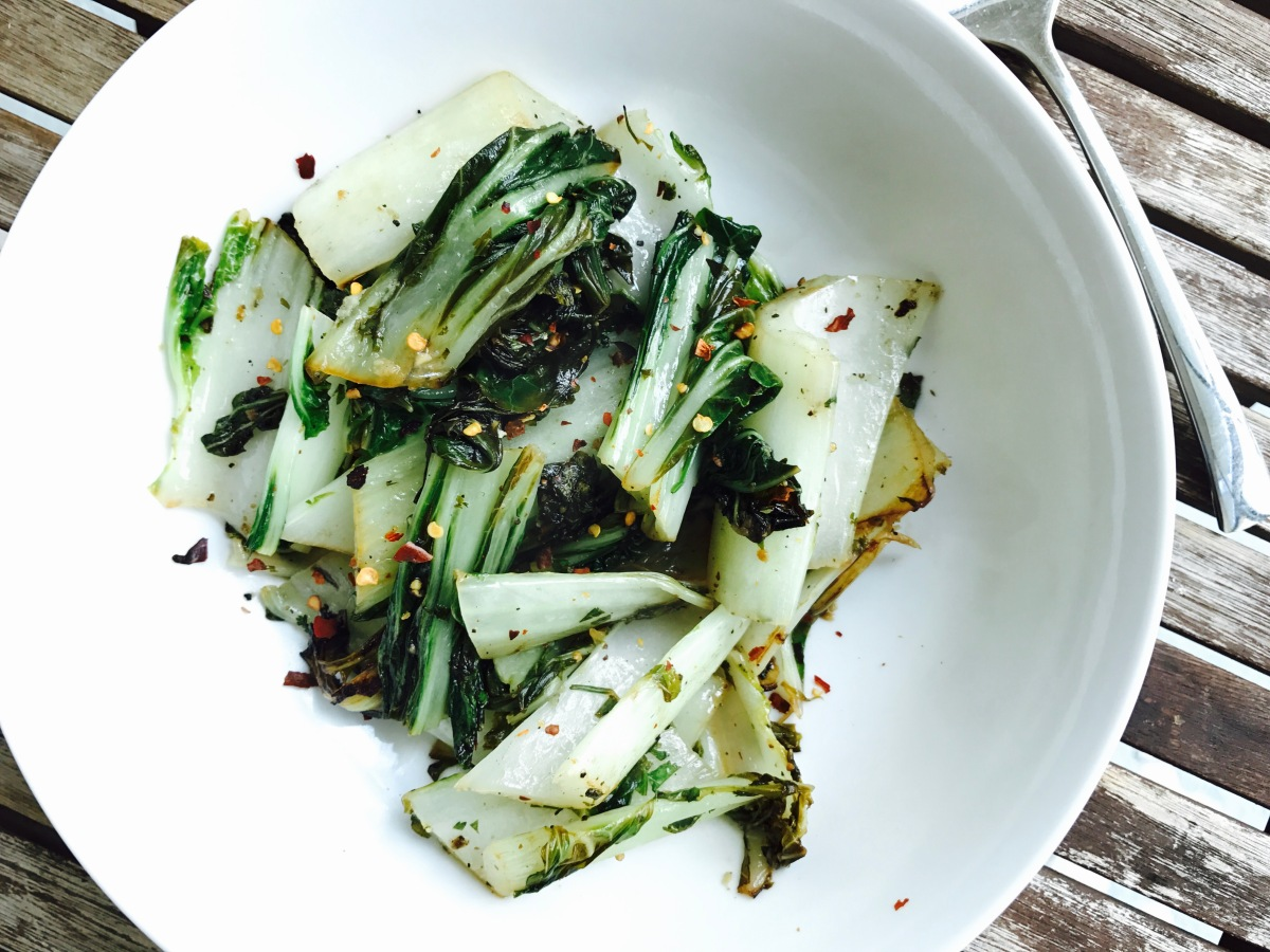 Lemon Bok Choy